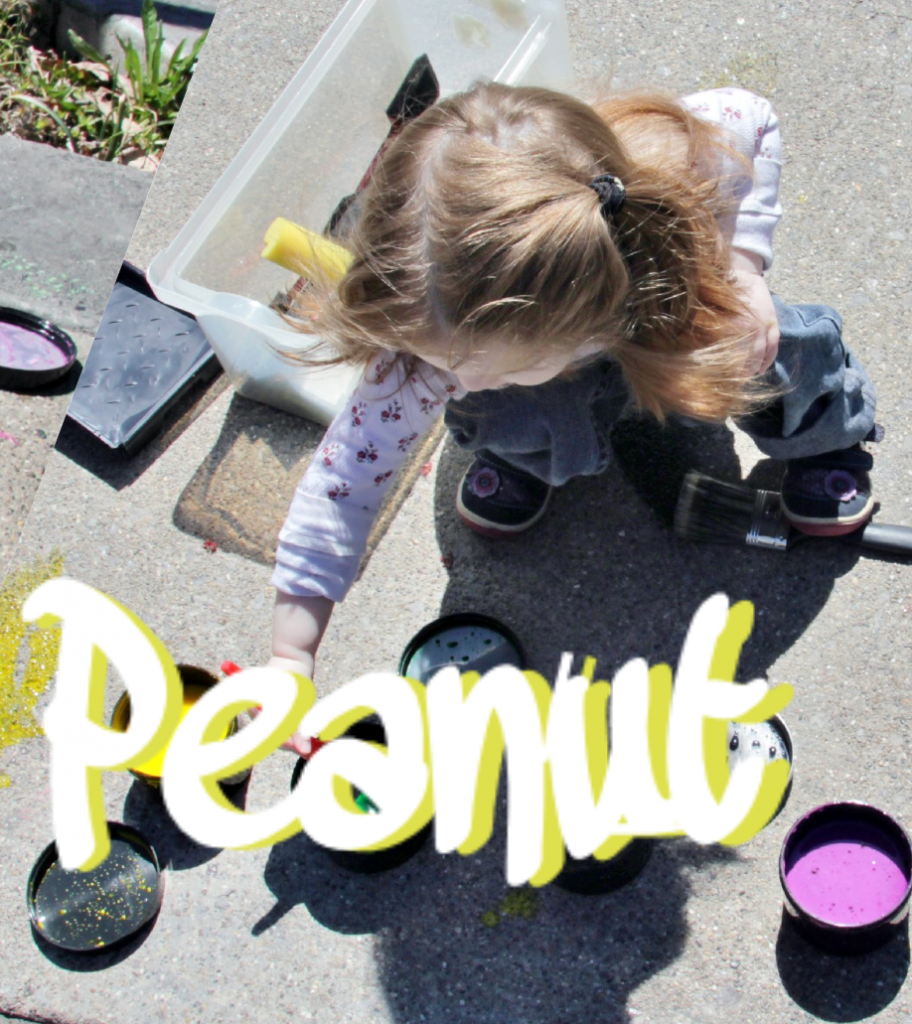 Painting with your peanut