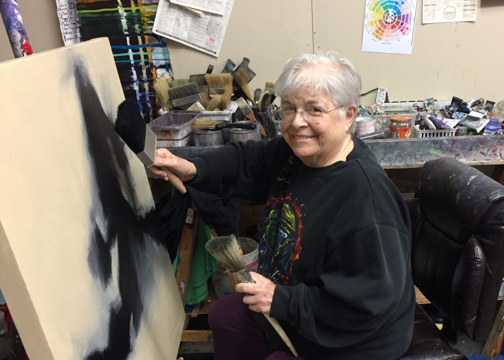 Kathy K Jones at work