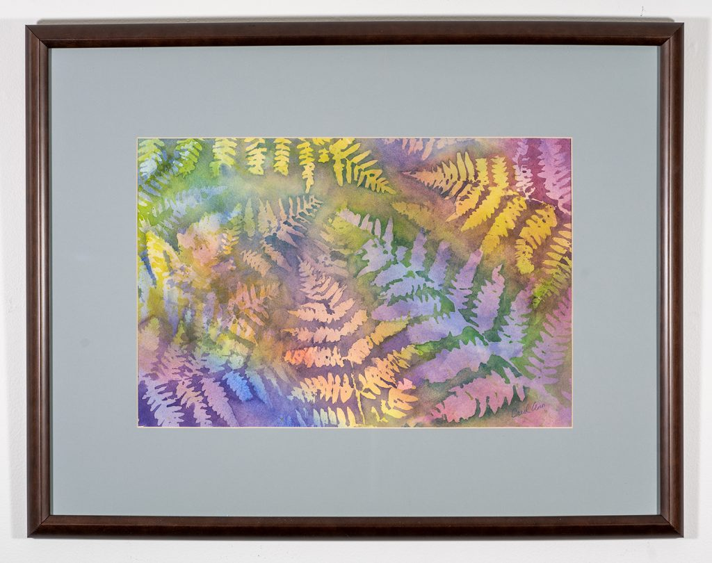 Award of Merit! Carol Nutter - Out of the Shadows, Watercolor $500