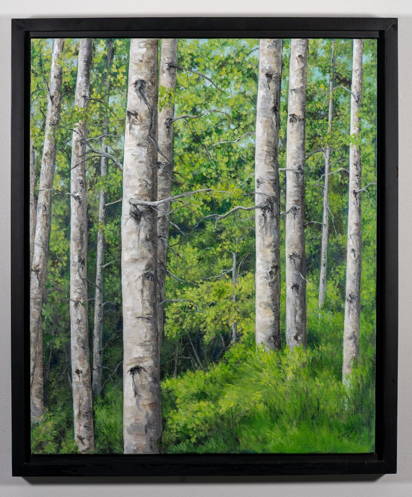 Award of Excellence! Gail Leduc - The Wild 80, Acrylic NFS