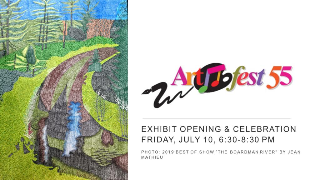 Artfest 55 exhibit opening
