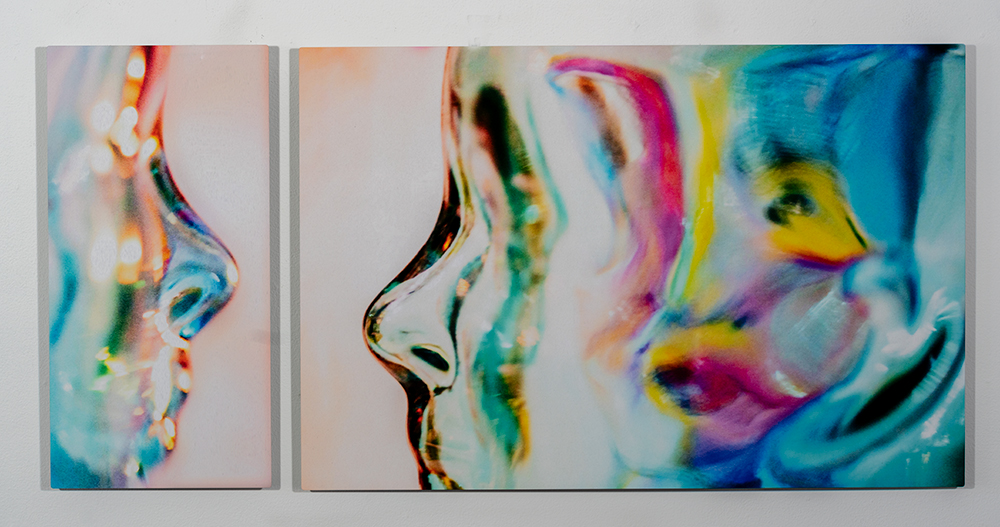 Desolate Descent I (10 x 20, $125) & II  (20 x 20, $250) - Photogrpahic metal print, C. Jewell, $350 together