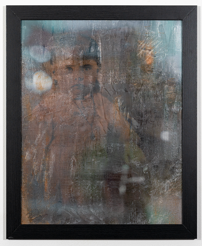 Lost in Time (16 x 20 - photo encaustic), C. Jewell, $125
