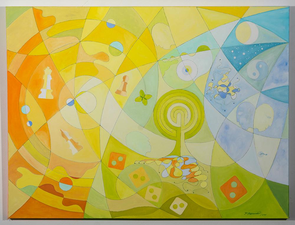 ALEKSANDER PYZIK - 'Days That We Still Do Not Know' - Oil - 36 x 48 - NFS