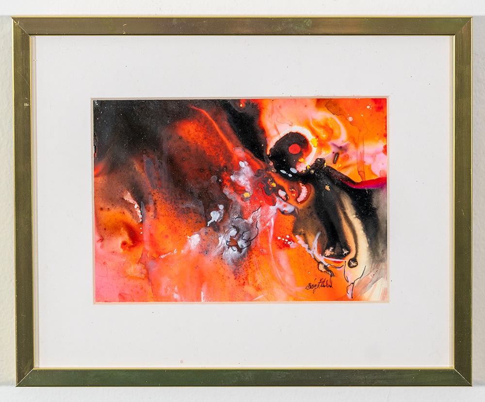 BECKY LITHERLAND - 'Killer Hornet' - Watercolor - 8.5 x 10.5 - $75