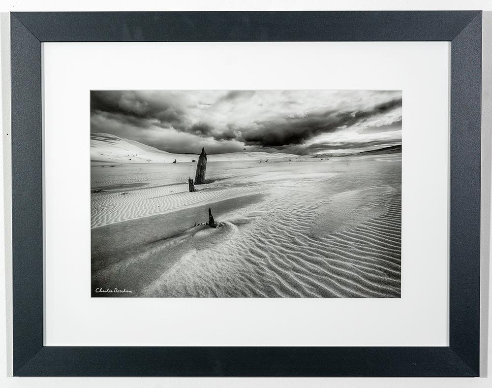 CHARLES BONHAM - 'Approaching Storm, Silver Dunes' - Photo - 21 x 27 - $159