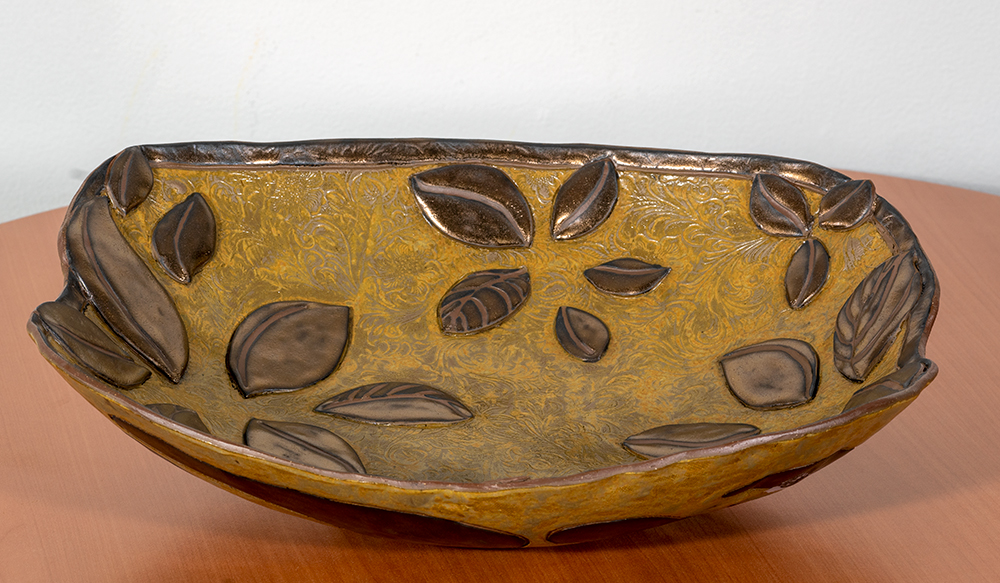 JASMINKA B. BLAZINA - 'Third One' - Stoneware - 3.5 x 15.5 x 13 - $140
