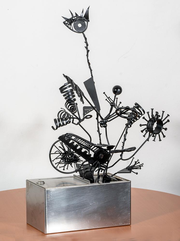 MIKE STARCH - 'Pandora's Box' - Welded Steel - 23 x 10.5 x 6 - NFS