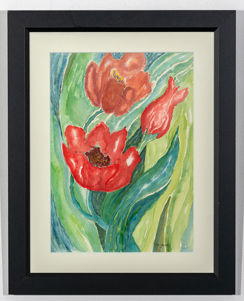 PAT YOCKEY - 'Spring Flowering' - Watercolor - 20 x 16 - $150