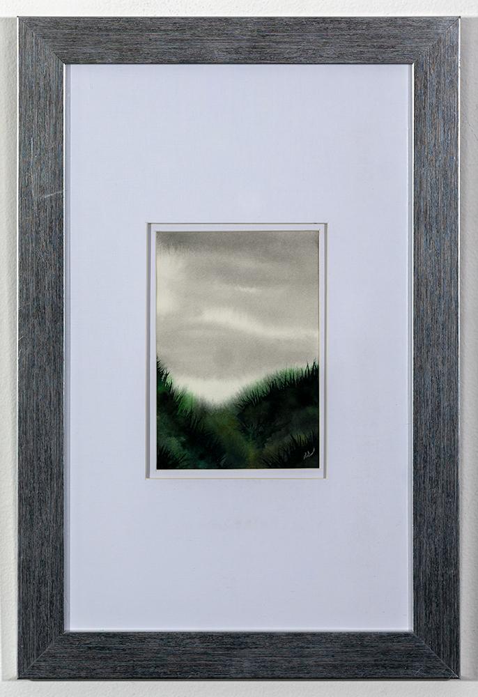 SARAH STEELE - 'Retreat' - Watercolor - 18 x 12 - $100