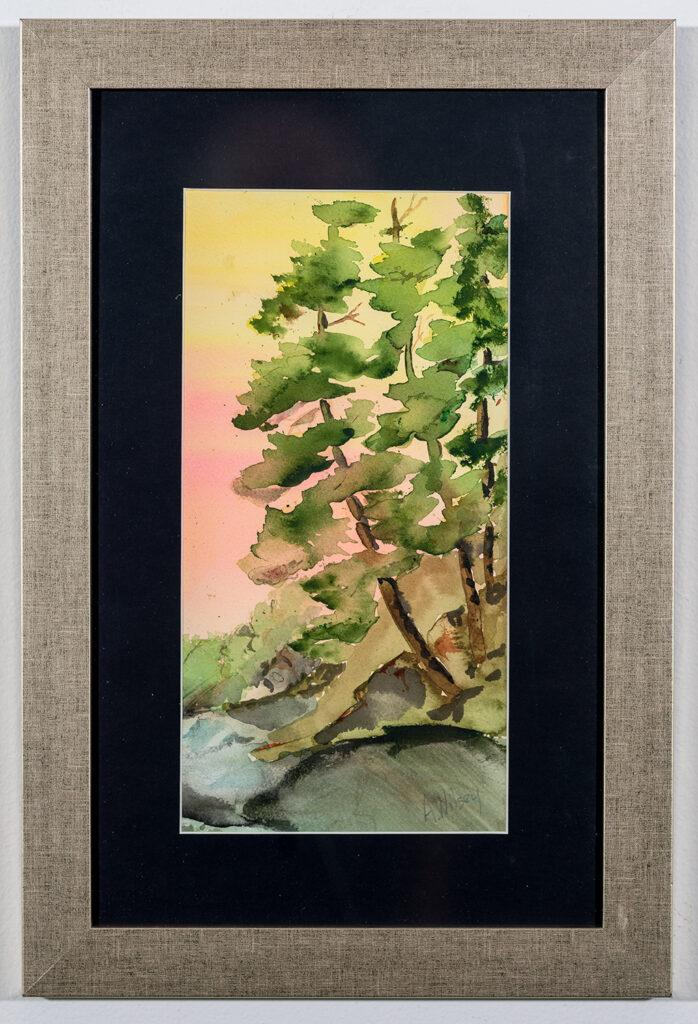 ALICE WILSEY - Sunset - Watercolor - 12x18 - $300