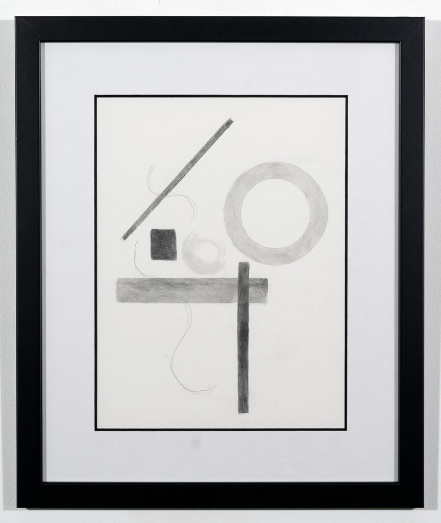 BARBARA DAY - Nothing is Perfect - Graphite - 17.25x20.75 - $250