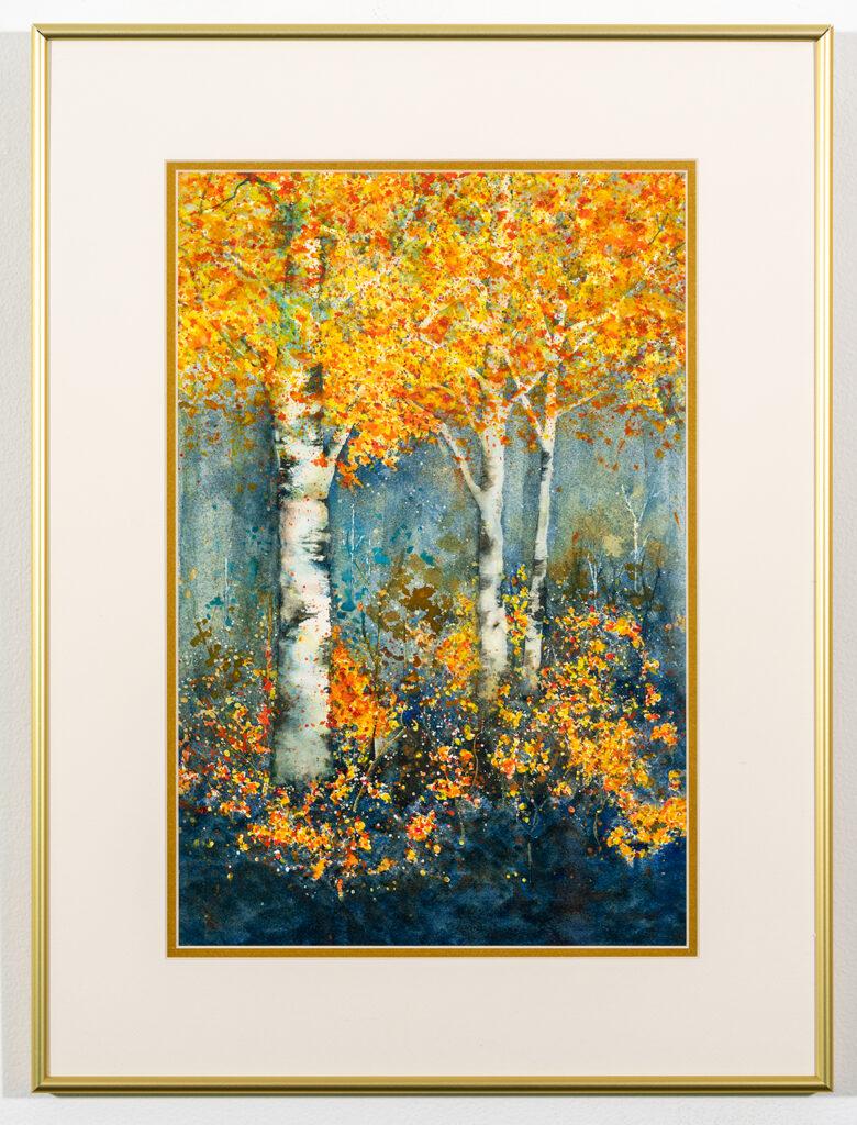 BARBARA WALWORTH - Nature's Color Display - Watermedia - 18.13x24.13 - $325
