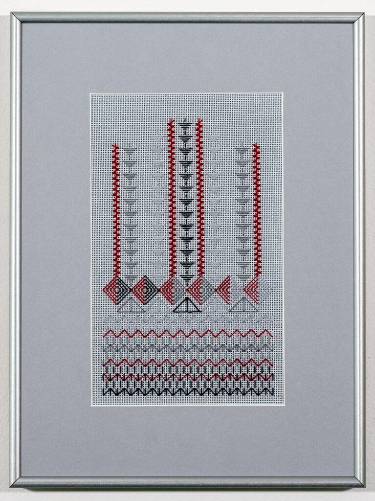 C JOANNE GRABINSKI - A&A J3 - Needlepoint - 11.25x15 - NFS