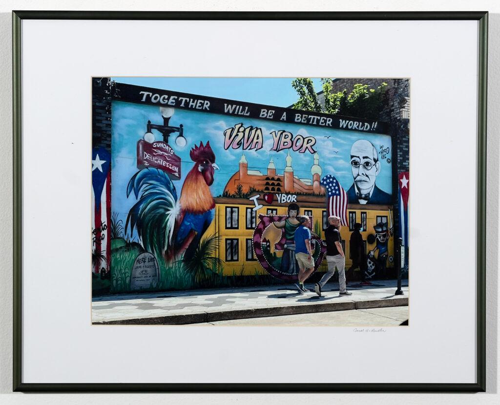 CAROL BULLER - Ybor Rooster - Photography - 20.38x16.38 - $140
