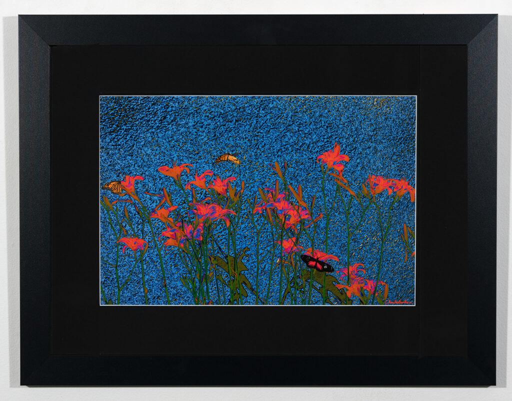 CHARLES BONHAM - Lilies at the Lake - Photography - 27.13x21.13 - $169