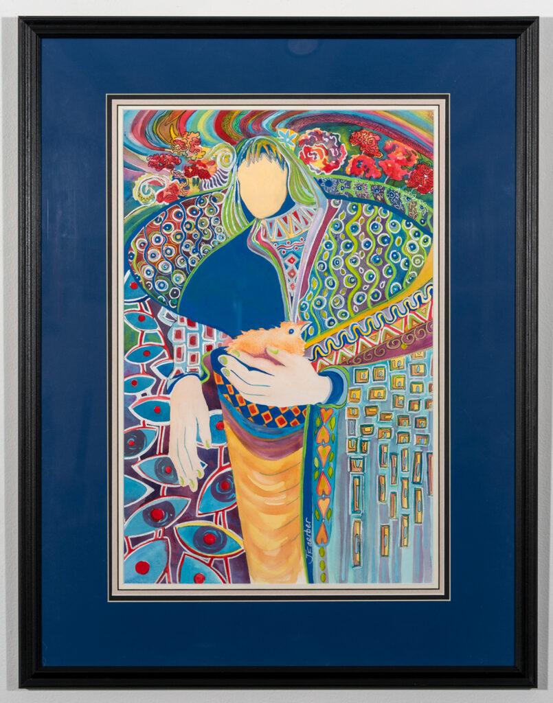 JANET FAERBER - ISFJ The Nurturer - Mixed Media - 23.63x30.63 - $400
