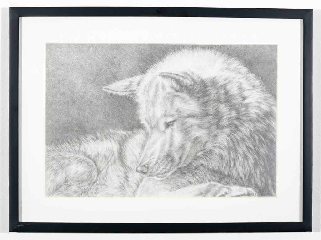 JERRY KING - Ghost of Negaunee - Graphite -$1,200