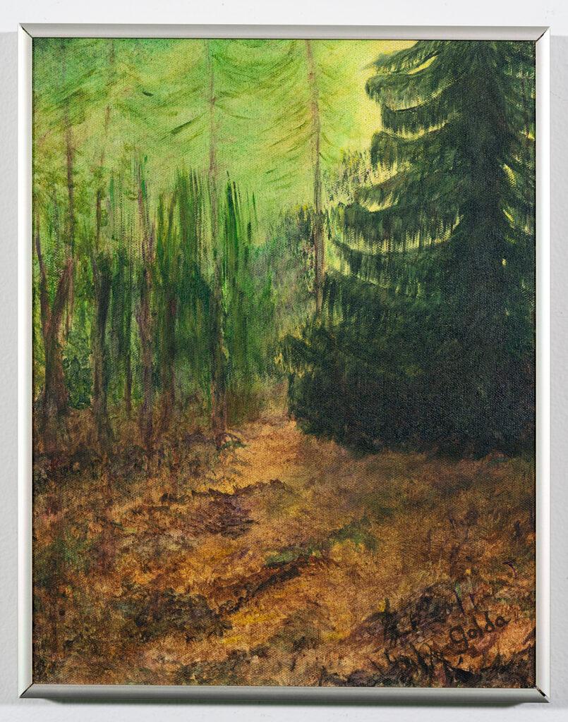 JUDY SCHEUFFELE - Tranquility - Acrylic - 11.13x14.13 - Price Negotiable