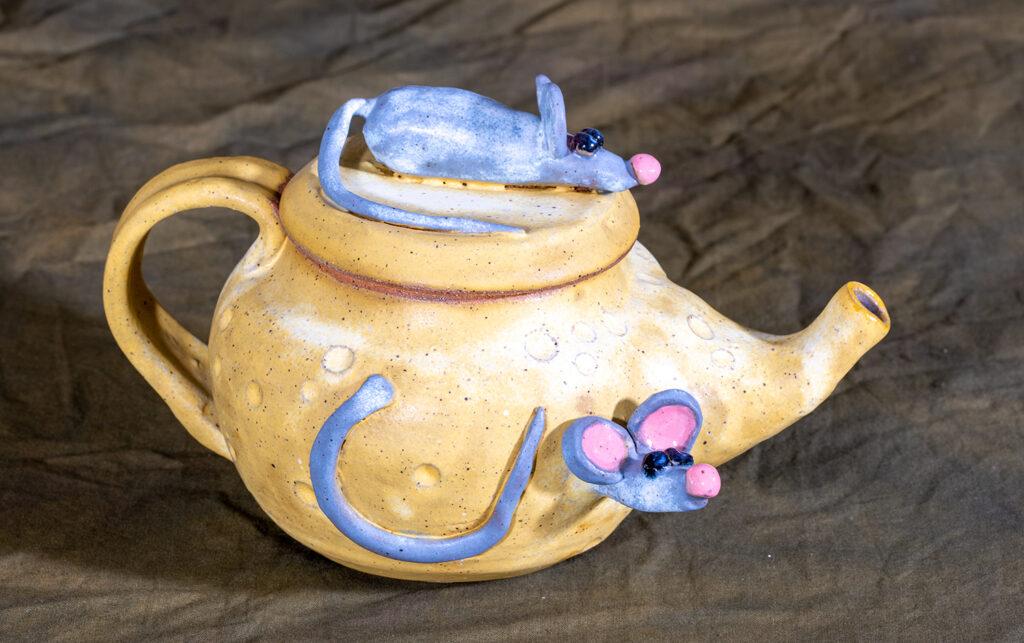 KATT GRIGGS - Tea for Three - Pottery - 9x6x7.5 - $110