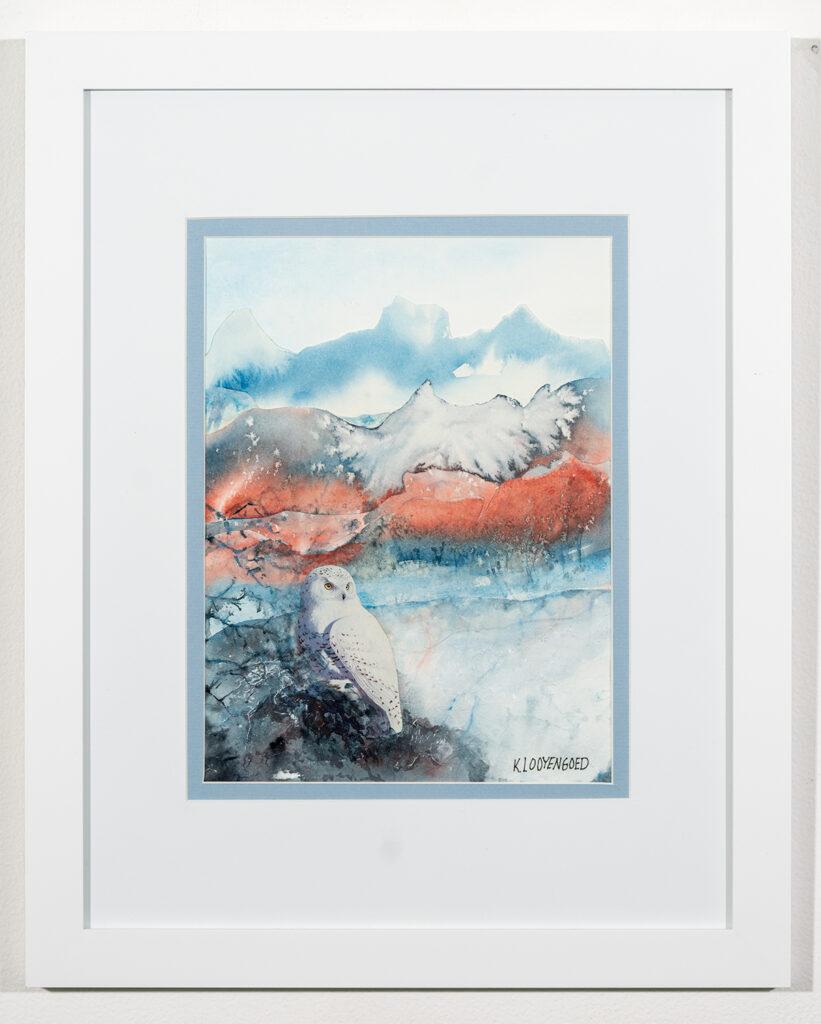 KAY LOOYENGOED - Iceland - Mixed Media - 16x20 - $275