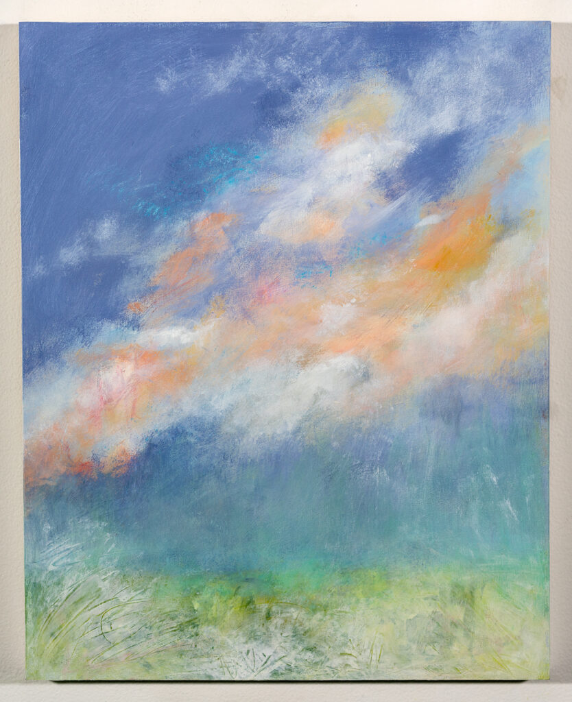 MICHELE FRISS - April After the Storm - Acrylic and Pastel - 16 x 20 - $300