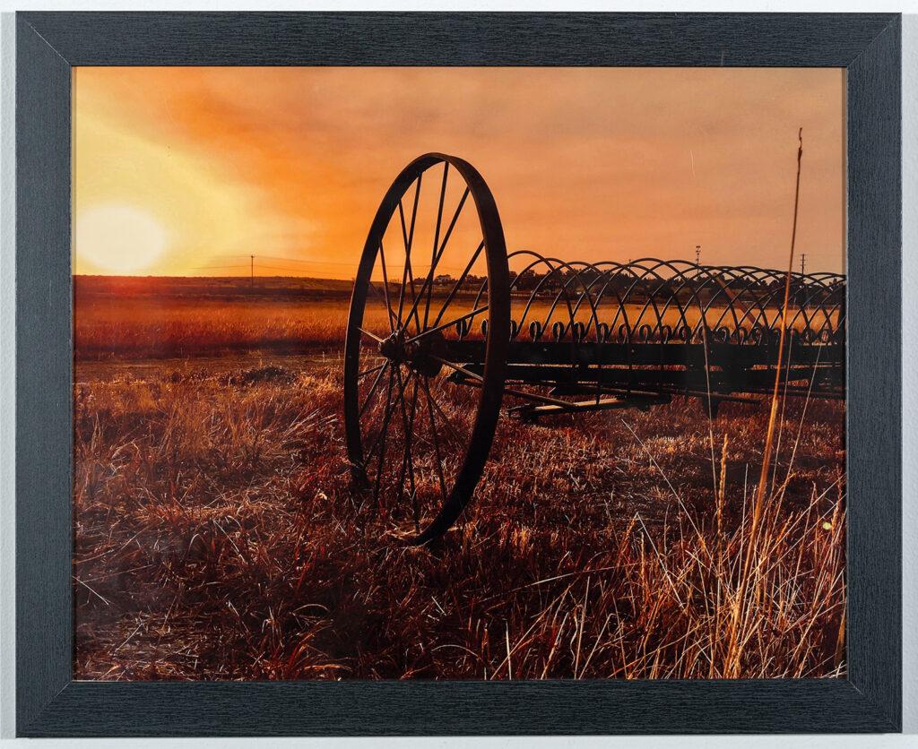 STEVE CARLSON - Sunrise on the Prairie - Photography - 22x18 - $50