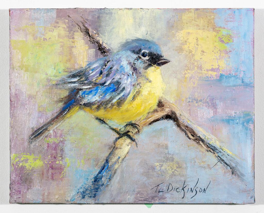 TERRY DICKINSON - Kirtland's Warbler - Oil on Canvas - 20x16 - $210